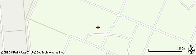 山形県鶴岡市荒俣(谷地田)周辺の地図