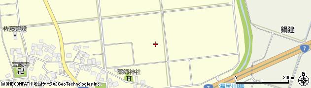 山形県鶴岡市矢馳(中田)周辺の地図
