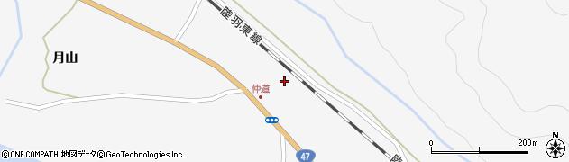 宮城県大崎市鳴子温泉(原崎)周辺の地図