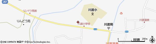 宮城県大崎市鳴子温泉(築沢)周辺の地図