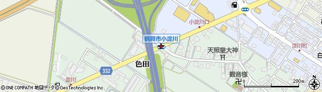 小淀川周辺の地図