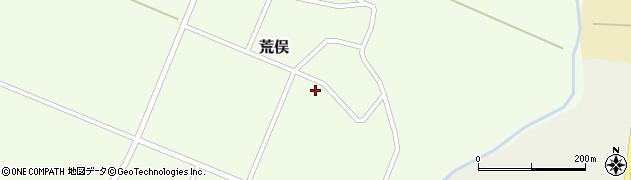 山形県鶴岡市荒俣(鷺沼)周辺の地図