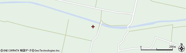 宮城県栗原市一迫柳目沖柳周辺の地図