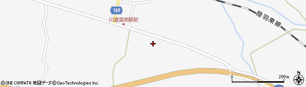宮城県大崎市鳴子温泉(滝岸)周辺の地図