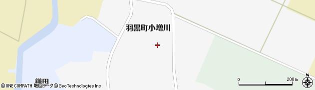 山形県鶴岡市羽黒町小増川(南川原)周辺の地図