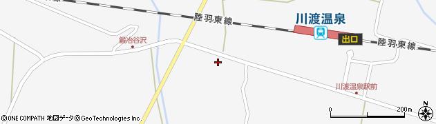 宮城県大崎市鳴子温泉(天神)周辺の地図