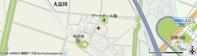 山形県鶴岡市大淀川(畑田)周辺の地図