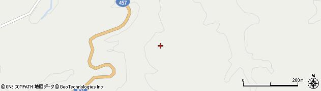 宮城県栗原市一迫長沢周辺の地図