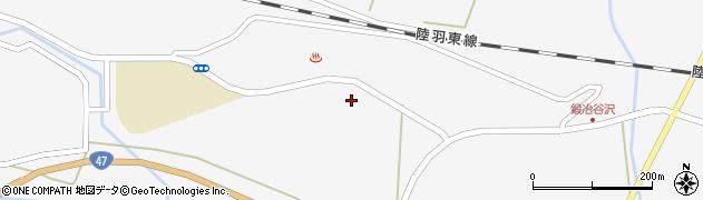 宮城県大崎市鳴子温泉(町下)周辺の地図