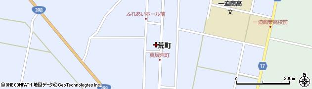 宮城県栗原市一迫真坂荒町周辺の地図