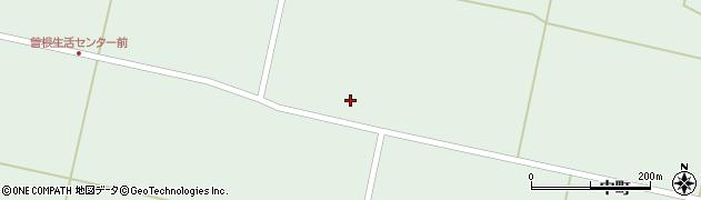 宮城県栗原市一迫柳目曽根八幡周辺の地図