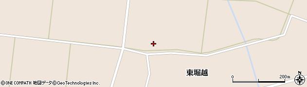 山形県鶴岡市東堀越(谷地田)周辺の地図