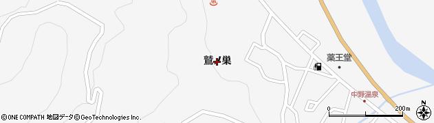 宮城県大崎市鳴子温泉(鷲ノ巣)周辺の地図