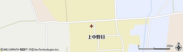 山形県鶴岡市上中野目(佐渡端)周辺の地図