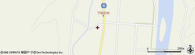 山形県東田川郡庄内町肝煎下田4周辺の地図