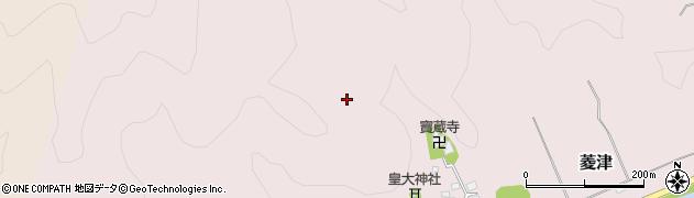 山形県鶴岡市菱津(綿打沢)周辺の地図