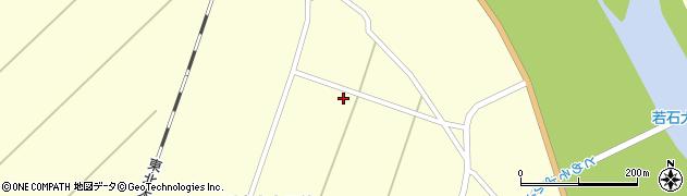 宮城県栗原市若柳川南上大目前周辺の地図