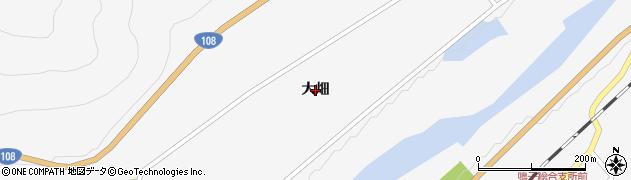 宮城県大崎市鳴子温泉(大畑)周辺の地図