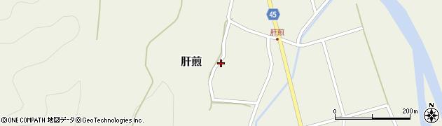 山形県東田川郡庄内町肝煎宮ノ前21周辺の地図