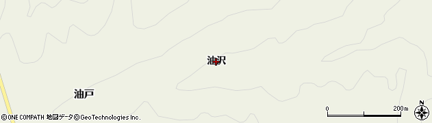 山形県鶴岡市油戸(油沢)周辺の地図