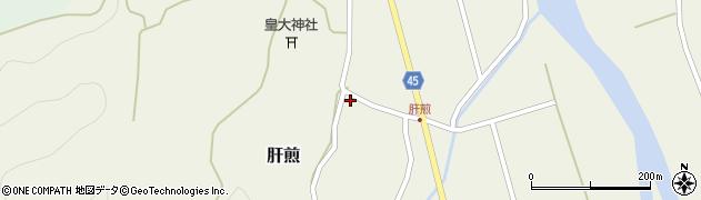 山形県東田川郡庄内町肝煎宮ノ前5周辺の地図