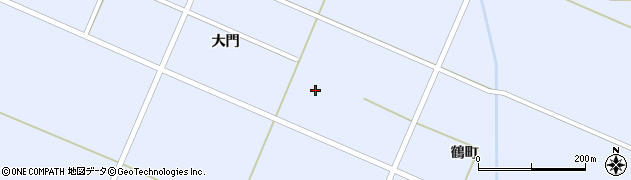 宮城県栗原市一迫真坂仙屋敷周辺の地図