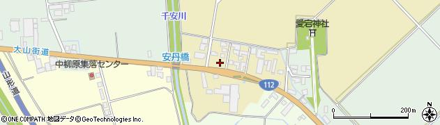 山形県鶴岡市安丹(村上)周辺の地図