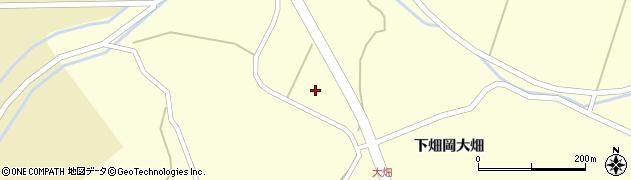 宮城県栗原市若柳下畑岡樽沼周辺の地図