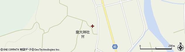 山形県東田川郡庄内町肝煎宮ノ前40周辺の地図