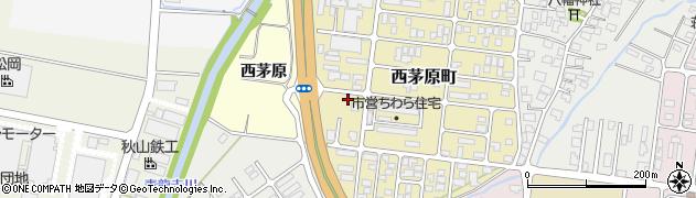 山形県鶴岡市茅原周辺の地図