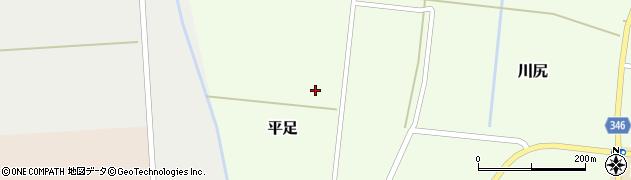 山形県鶴岡市平足(堂ノ前)周辺の地図