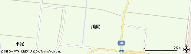 山形県鶴岡市川尻周辺の地図