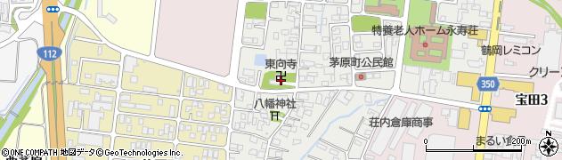 東向寺周辺の地図