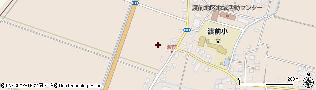 山形県鶴岡市渡前(前堰)周辺の地図
