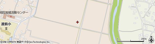 山形県鶴岡市渡前(神伝田)周辺の地図