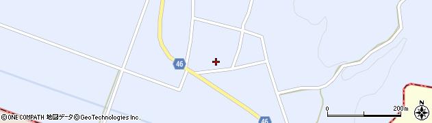 山形県東田川郡庄内町三ケ沢堰南26周辺の地図