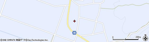 山形県東田川郡庄内町三ケ沢堰南49周辺の地図
