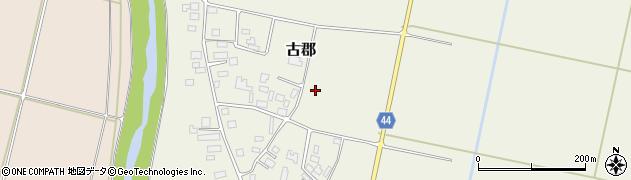 山形県鶴岡市古郡(形ノ目)周辺の地図