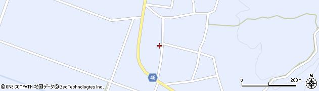山形県東田川郡庄内町三ケ沢堰南47周辺の地図