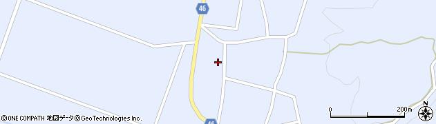 山形県東田川郡庄内町三ケ沢堰南43周辺の地図