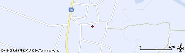 山形県東田川郡庄内町三ケ沢周辺の地図