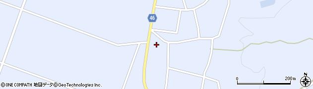 山形県東田川郡庄内町三ケ沢堰南41周辺の地図