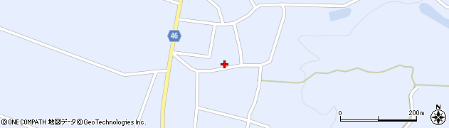 山形県東田川郡庄内町三ケ沢宮田59周辺の地図