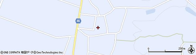 山形県東田川郡庄内町三ケ沢宮田52周辺の地図