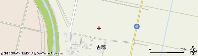 山形県鶴岡市古郡(長堰)周辺の地図