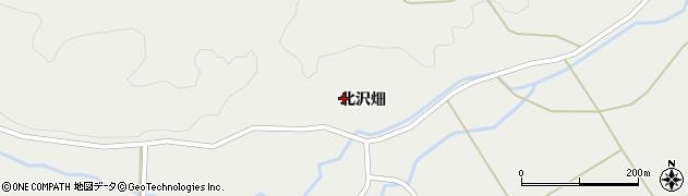 宮城県栗原市一迫北沢畑周辺の地図
