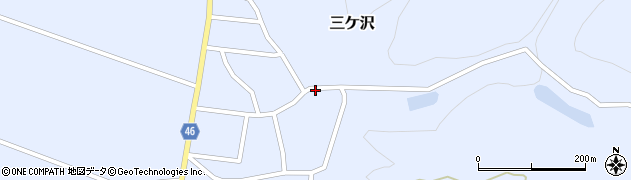 山形県東田川郡庄内町三ケ沢宮田20周辺の地図