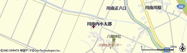 宮城県栗原市若柳川南内小太郎周辺の地図