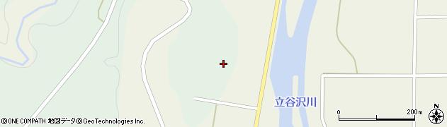 山形県東田川郡庄内町狩川大平周辺の地図