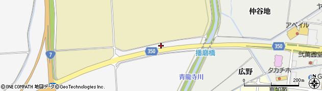 山形県鶴岡市本田(小瀬京田)周辺の地図